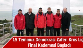 15 Temmuz Demokrasi Zaferi Kros Ligi Samsun'da