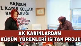 AK Parti Samsun İl Kadın Kolları ; Çocukların Yüreğini Isıtmayı Hedefliyor.