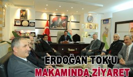 İlkadım Belediye Başkanı Erdoğan Tok'u makamında ziyaret