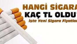 İşte Zamlı Yeni Sigara Fiyatları