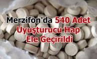 Merzifon'da 540 Adet Uyuşturucu Hap Ele Geçirildi