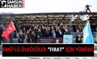 Omü'lü Gençler Fırat Çakıroğlu'nu Anıyor