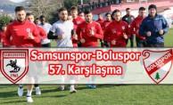 Samsunspor-Boluspor 57. Karşılaşma