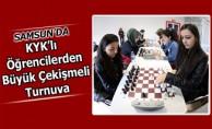 KYK'lı Öğrencilerden Büyük Çekişmeli Turnuva