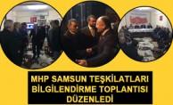 MHP Samsun Teşkilatları Alaçam İlçesi'nde BilgilendirmeToplantısı Düzenledi