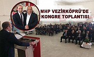 MHP Vezirköprü'de Kongre Toplantısı