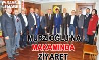 Salih Zeki Murzioğlu'na Makamında Ziyaret