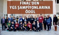 Samsun Final Okullarından Dereceye Giren öğrencilerine Cumhuriyet Altını