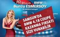 Samsun'da BMW 4.18 Coupe Kazanma Fırsatı Size Vurabilir