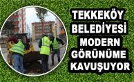 Tekkeköy Belediyesi Modern Görünüme Kavuşuyor