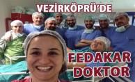 Vezirköprü Devlet Hastanesinde Çok Konuşulacak Fedekar Doktor