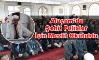 Alaçam'da şehit polisler unutulmadı