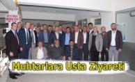 Erhan Usta'dan Vezirköprü Köy ve Mahalle Muhtarları Derneği'ne  Ziyaret
