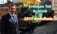 Hedef 2017 yılında 60 bin asfalt döşemek