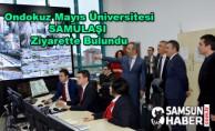 Ondokuz Mayıs Üniversitesi SAMULAŞI Ziyarette Bulundu