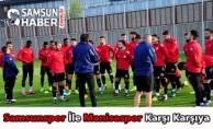 Samsunspor ile Manisaspor Karşı Karşıya
