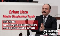 Erhan Usta Meclis Gündemine Taşıdı