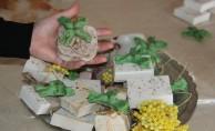 Fındık ve ısırgan bitkisinden hediyelik sabun