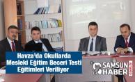 Okullarda Mesleki Eğitim Beceri Testi Yapılacak
