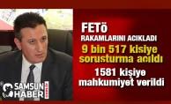 Cumhuriyet Başsavcılığı Samsun'da FETÖ Rakamlarını Açıkladı