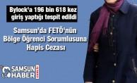 Samsun'da FETÖ'nün Bölge Öğrenci Sorumlusuna Hapis Cezası