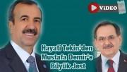 Hayati Tekin'den Mustafa Demir'e Büyük Jest