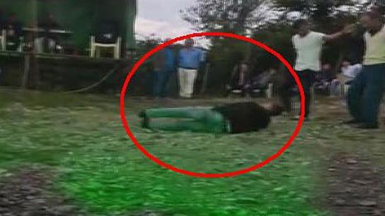 Düğünü çeken kameraman maganda kurşunuyla vuruldu- Videosu