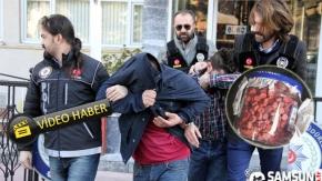 İstanbul'dan Samsun'a Uyuşturucu Ticareti