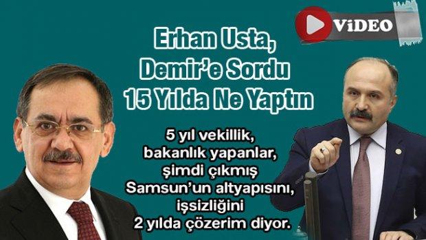 Erhan Usta, Demir'i eleştiri yağmuruna tuttu! -Video Haber