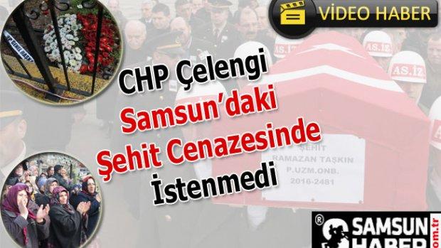 CHP Çelengi Şehit Cenazesinde İstenmedi