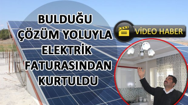 Bulduğu Çözüm Yoluyla Elektrik Faturasından Kurtuldu