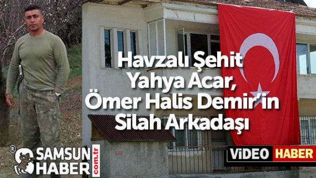 Havzalı Şehit  Yahya Acar, Ömer Halis Demir'in Silah Arkadaşı