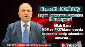 Necaattin Demirtaş, HDP Söylentilerine Cevap Verdi- Video Haber