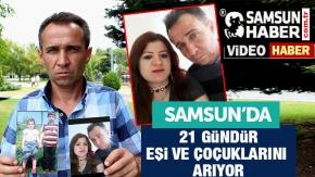 21 Gündür Eşini ve Çocuklarını Arıyor videosu