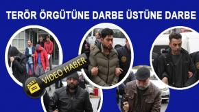 Samsun'da  Terör Örgütüne Darbe Üstüne Darbe