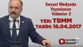 Erhan Usta 2017 Yılında TBMM'de Yapmış Olduğu konuşması