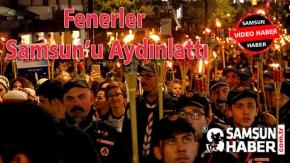 Fenerler Samsun#039;u Aydınlattı Video