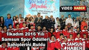 2016 Yılı Samsun Spor Ödülleri Sahibini Buldu