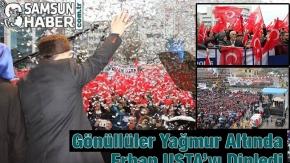 Erhan Usta Sevenlerini, Yağmur Durduramadı - Video Haber