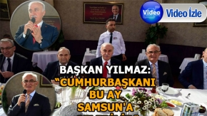 Cumhurbaşkanı bu ay Samsun'a gelebilir